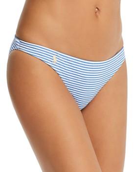 Ralph Lauren - Seersucker Devin Hipster Bikini Bottom