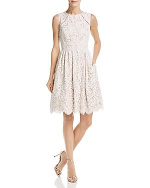 Eliza J Dresses FLORAL LACE DRESS