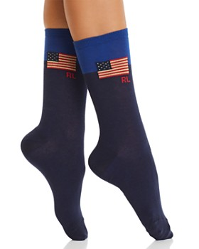 Ralph Lauren - Colorblock Flag Trouser Socks