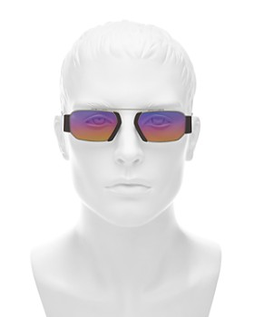 Dior - Men's Chroma 2 Mirrored Brow Bar Aviator Sunglasses, 52mm