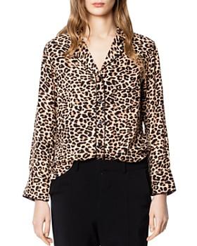 6e5cde73236df4 Zadig   Voltaire - Tacha Leopard-Print Pajama-Style Shirt ...