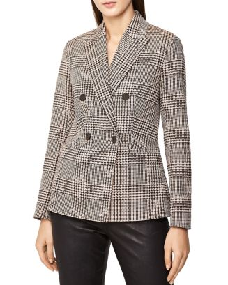 Cillian Houndstooth Blazer by Reiss