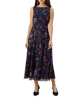 HOBBS LONDON - Carly Sleeveless Floral-Print Maxi Dress
