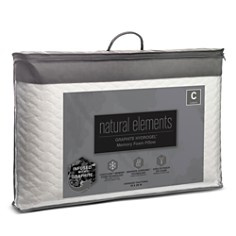 Natural Elements - Graphite Hydrogel Foam Pillow, Standard