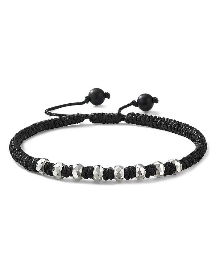 David Yurman - Fortune Woven Bracelet with Black Onyx