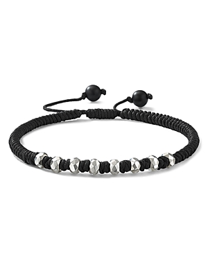 David Yurman Accessories FORTUNE WOVEN BRACELET WITH BLACK ONYX