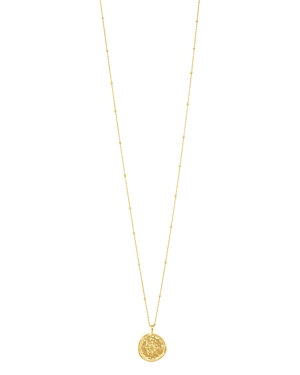 Gorjana Accessories COMPASS COIN NECKLACE, 19