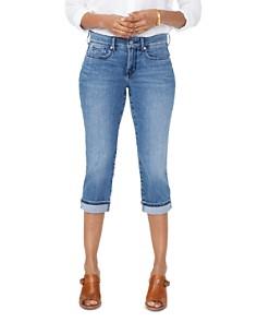 NYDJ - Marilyn Straight Crop Jeans in Aquino