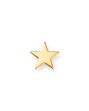 Zoe Chicco 14K Yellow Gold Single Itty Bitty Star Stud Earring-Jewelry & Accessories