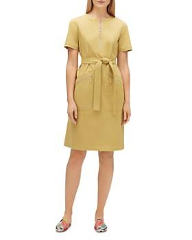 09eaa4a7 Lafayette 148 New York - Elizabella Belted Dress ...
