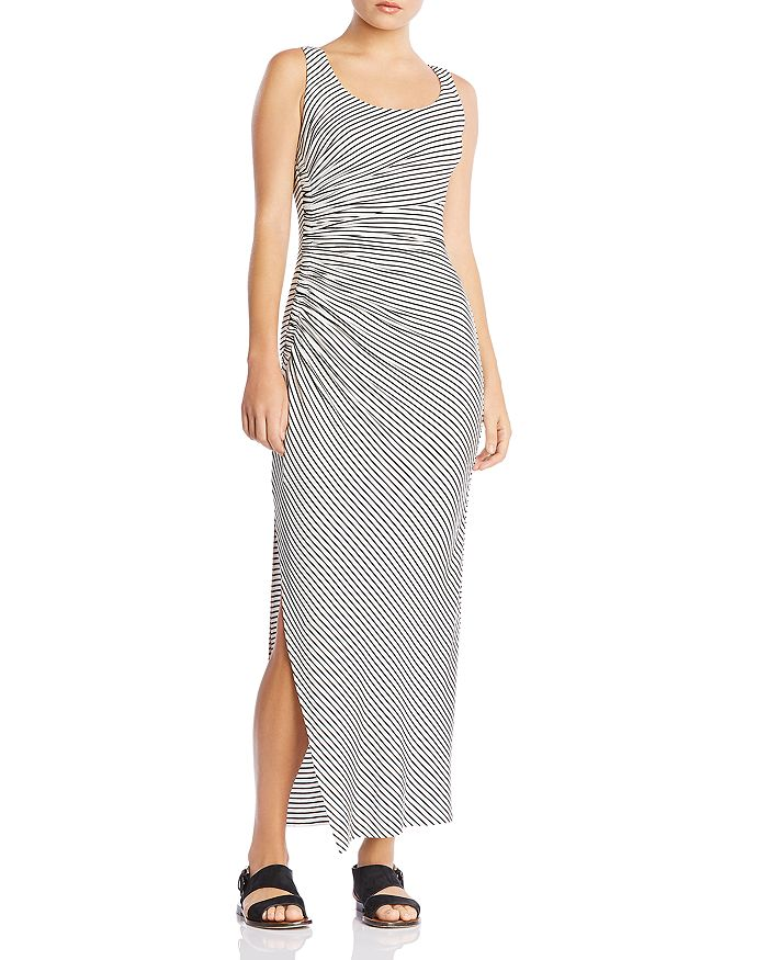 Bailey 44 - Duststorm Ruched Striped Maxi Dress