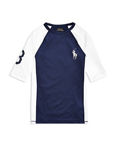 Ralph Lauren - Boys' UPF 40 Rash Guard - Big Kid
