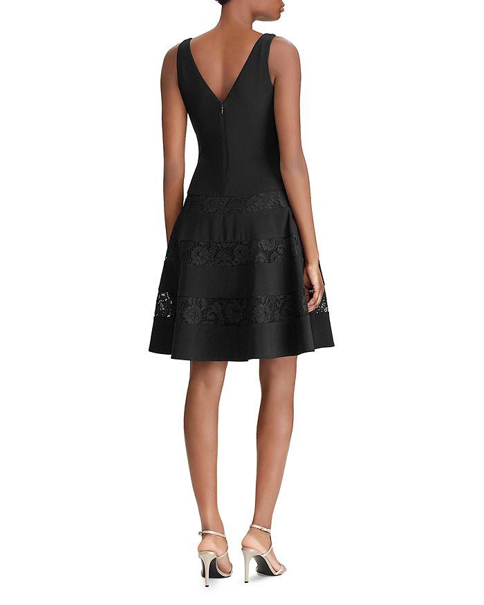 32f80306589 Ralph Lauren - Lace-Inset Dress