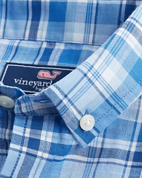 Vineyard Vines - Boys' Beach Tartan-Plaid Dress Shirt - Little Kid, Big Kid