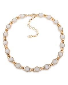 "Ralph Lauren - Crest Logo Collar Necklace, 16"""