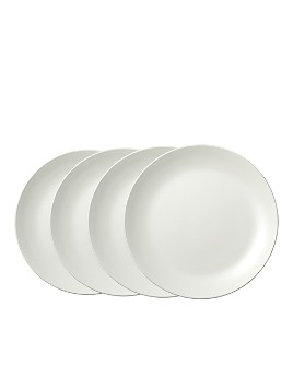 "Wedgwood - Perfect White Dinner Plate 10.75"", Set of 4"