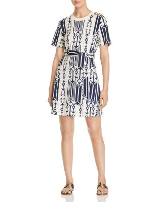 Belted T Shirt Dress by Tory Burch