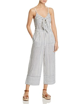Vero Moda - Coco Sleeveless Striped Jumpsuit
