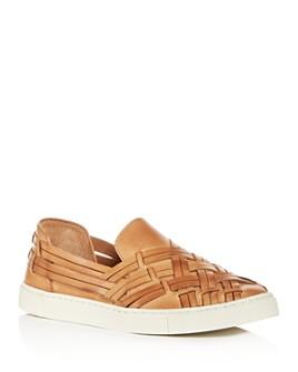 Frye - Women's Ivy Huarache Woven Slip-On Sneakers