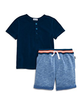 Splendid - Boys' Heathered Shorts Set - Little Kid