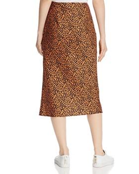 The East Order - Sahara Leopard-Print Midi Skirt