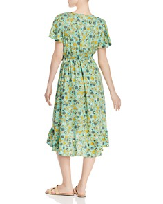 Band of Gypsies - Dublin Floral Midi Dress