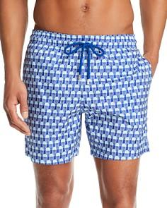 Vilebrequin - Istanbul Packable Jellyfish-Print Swim Shorts