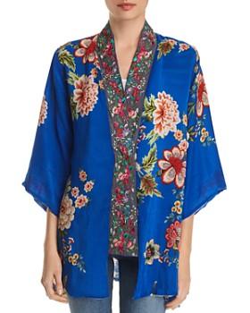 c08829fc775 Johnny Was - Bonian Floral-Print Kimono ...