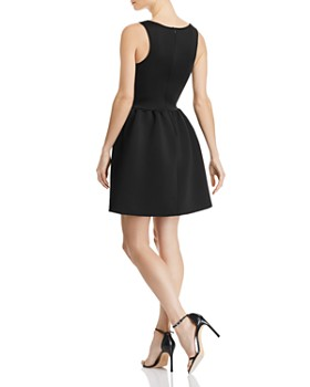 AQUA - Neoprene Fit-and-Flare Dress - 100% Exclusive