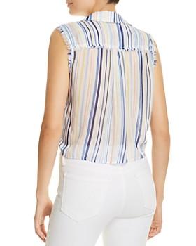 Bella Dahl - Sleeveless Tie-Front Blouse