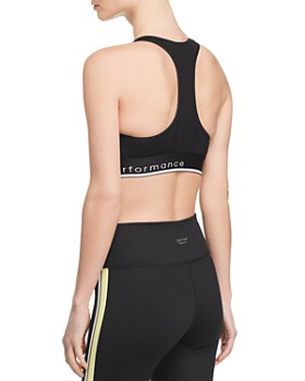 Calvin Klein - Textured Logo Sports Bra