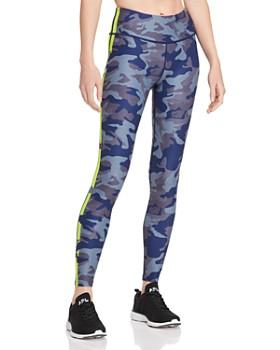 Wear It To Heart - Side-Stripe Camo Leggings - 100% Exclusive