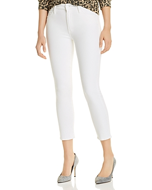 Mother Jeans LOOKER CROPPED SKINNY JEANS IN GLASS SLIPPER