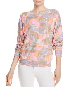 WILDFOX - Tropic Camo Sweatshirt