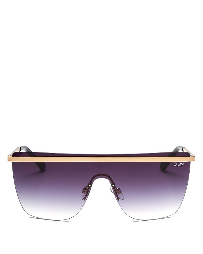 Quay - Women's QUAY x JLO Get Right Shield Sunglasses, 54mm