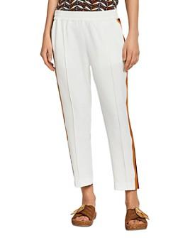 Scotch & Soda - Side-Stripe Cropped Pants