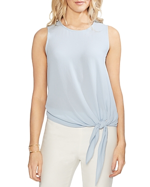 Vince Camuto Tops SLEEVELESS TIE-FRONT TOP