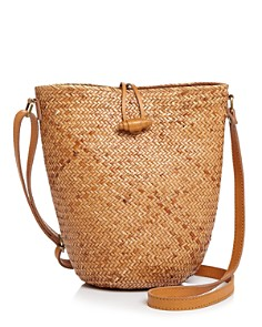 Faithfull the Brand - Cornelia Straw Bucket Bag