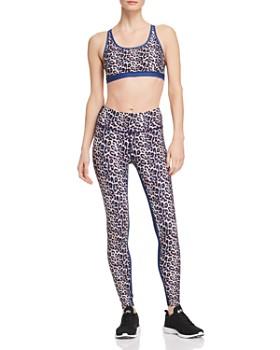 Wear It To Heart - High-Rise Leopard Print Leggings - 100% Exclusive