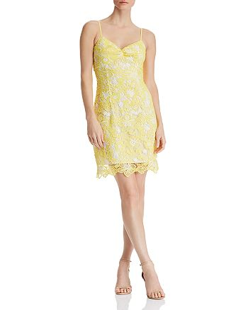 GUESS - Tyela Floral-Lace Dress