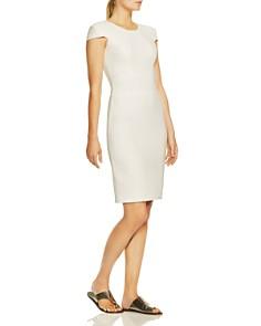HALSTON HERITAGE - Cap-Sleeve Pencil Dress