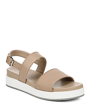 Via Spiga Platforms WOMEN'S DAVI LEATHER PLATFORM SANDALS