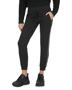 The Kooples - Fleece And Strassed Embellished Sweatpants