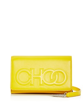 Jimmy Choo - Sonia Small Logo Leather Chain Wallet