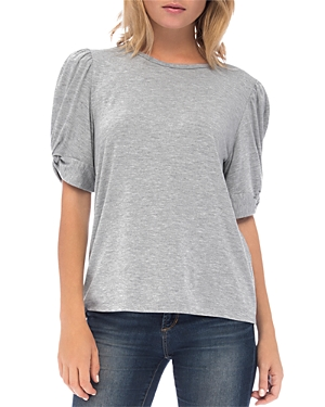 B Collection By Bobeau Tops B COLLECTION BY BOBEAU CORBIN PUFF-SLEEVE TOP