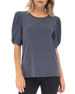 B Collection By Bobeau Corbin Puff-Sleeve Top