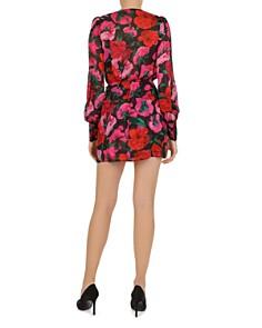 The Kooples - Dolce Vita Floral-Print Wrap Mini Dress