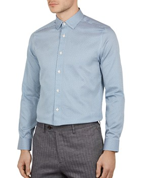 a31eef12e Ted Baker - Edde Two-Tone Phormal Slim Fit Shirt ...
