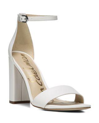 Yaro Ankle Strap Block Heel Sandals