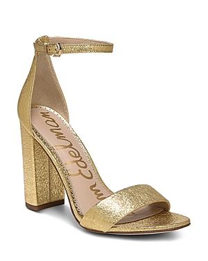 Sam Edelman Chunky heels Women's Yaro Ankle Strap Block Heel Sandals